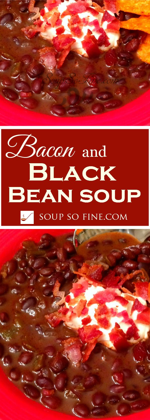 Gluten Free | Full of flavor, fiber, and fabulous nutrition. Plus, the smoky goodness of bacon combines beautifully with the hearty flavor of black beans, sautéed onions, and diced green chiles. Yummy!