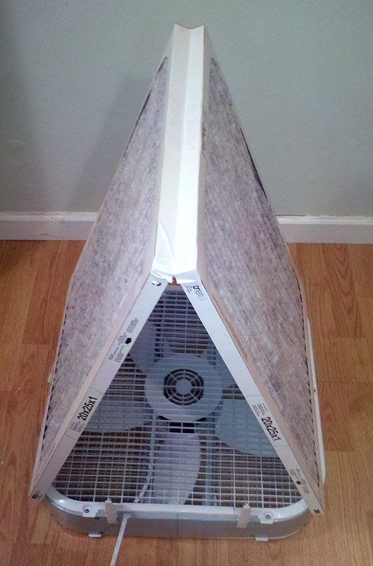 Tom Builds Stuff: Better Box Fan Air Purifier