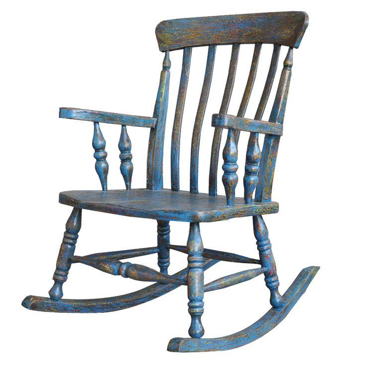 MaxxDepo  Little  Rock Sallanan Sandalye - Mavi : 899,90 TL   evmanya.com