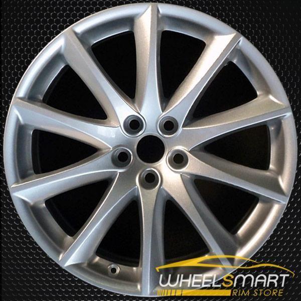 19 Jaguar Xj Rims For Sale 2010 2018 Rear Silver Oem Wheel 59870
