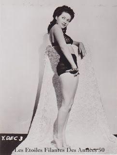 Les Icônes du 7ème Art: Yvonne De Carlo Pin-Up Glamour.