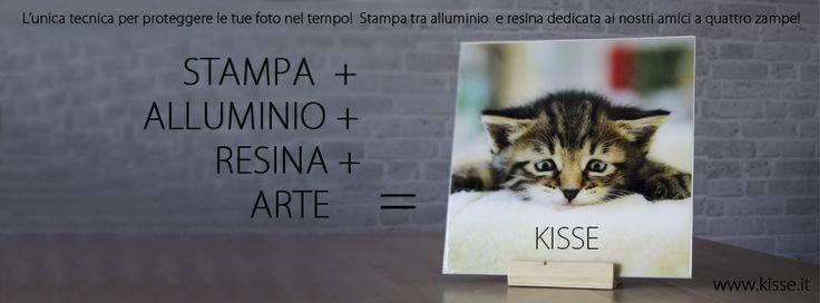 KISSE STAMPE DIETRO RESINA