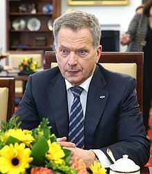 Sauli Niinistö en 2015. (Finlande)