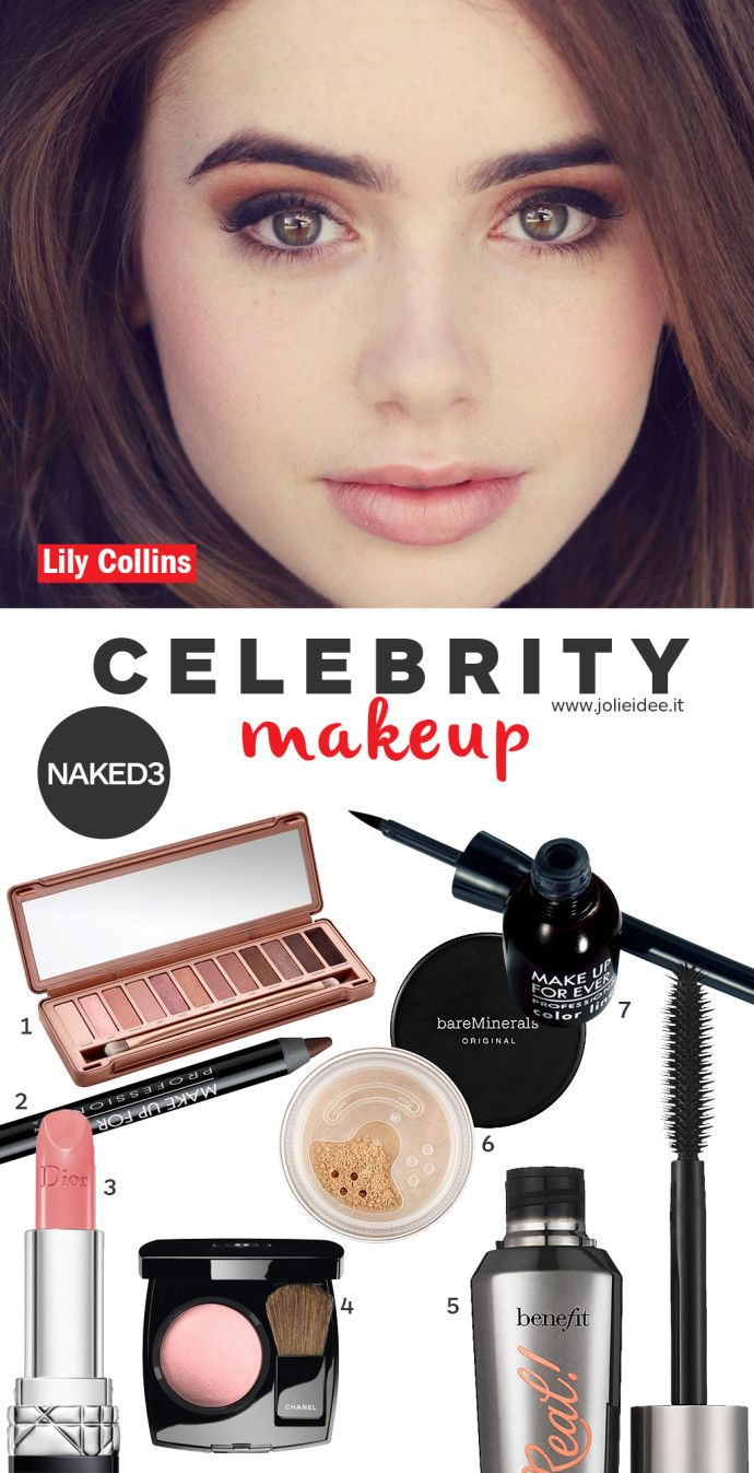 Lily Collins Day Make up Naked 3 - Makeup Tutorial