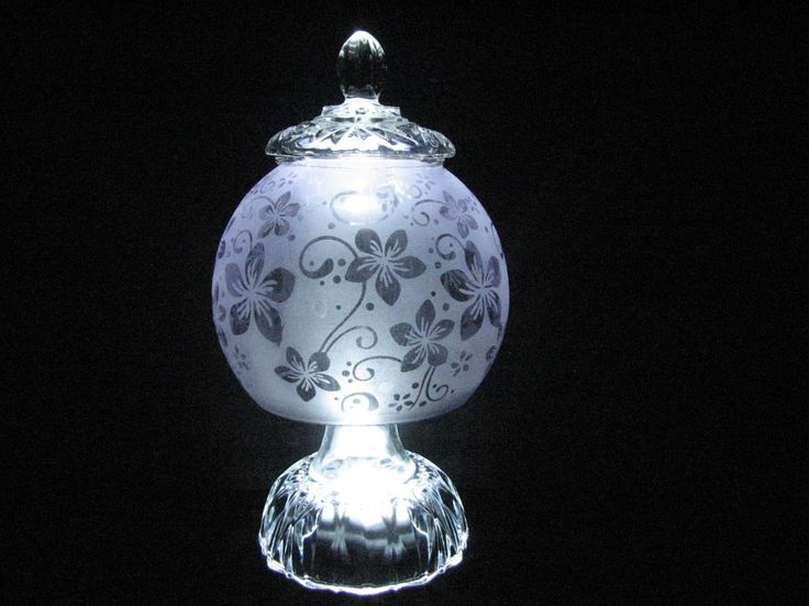 I fell in love with the pale lavender and rose embossed bowl I used in this lamp.