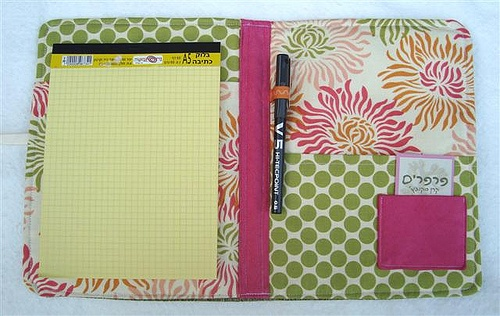 Fabric covered Notebook by skubach, via Flickr