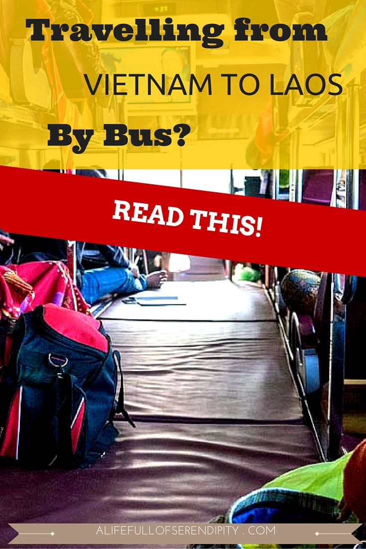 Are you thinking of crossing the Vietnam - Laos / Laos - Vietnam border by bus? I compiled this guide to make you aware of a few things on this journey. It can be done and in fact it's one of the easiest bus trips I have ever done. There are some horror stories on the Internet about this route - i think the countries have come a long way to make this a safer and more enjoyable trip. If you leave your Western standards at home...Read more to find out!