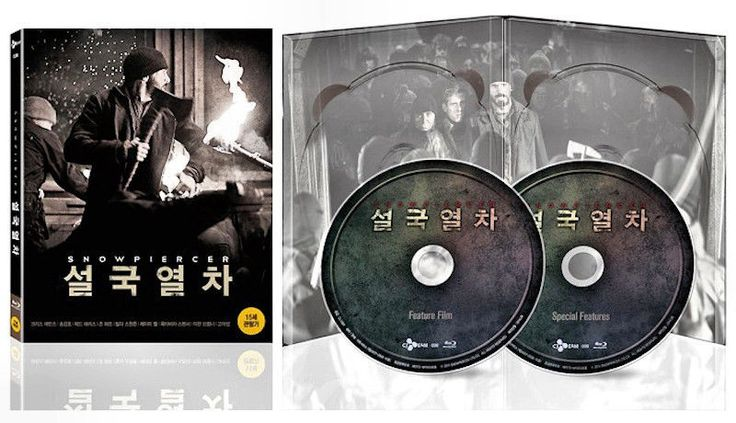 Snowpiercer[Blu-ray Region A] / Chris Evans, Song Kangho, Jamie Bell / 2Disc