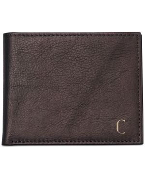 Cathy's Concepts Men's Personalized Brown Bi-Fold Wallet with Multi-function Tool - Brown