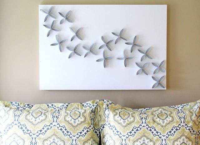 from Gardners 2 Bergers: ✥ 15 Ideas for DIY Canvas Art ✥