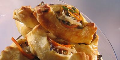 Moroccan Lamb and Vegetable Pastries Recipes
