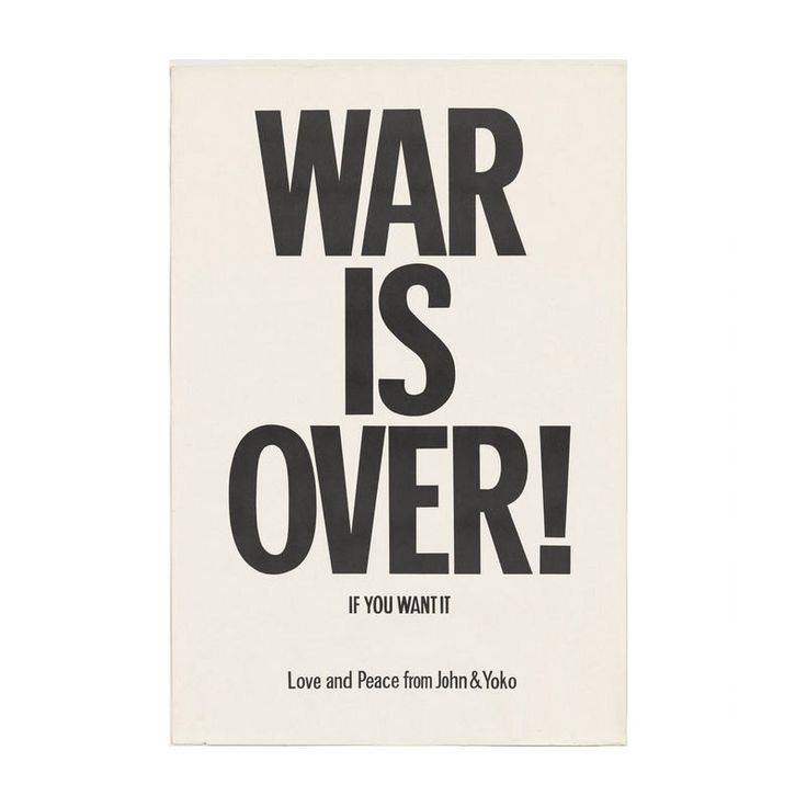 Written Words Art Silk Poster ( War Is Over! If You Want It Love Peace - From John And Yoko 1969 ) 24x36inch  Brand New GAGA0117(1) by bunnnygaga28 on Etsy https://www.etsy.com/listing/474250954/written-words-art-silk-poster-war-is