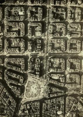Vista aèria P. Catalunya  Escuela Aeronáutica Naval  1927  Arxiu Fotogràfic de Barcelona