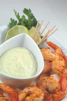 Roasted Shrimp with Wasabi Cocktail Sauce