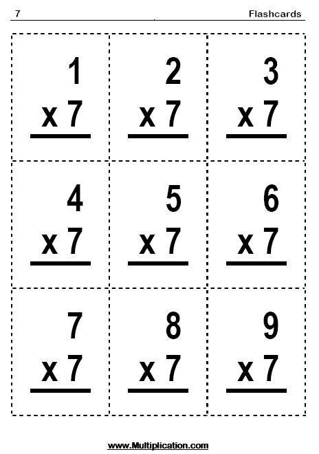 Best 25+ Multiplication flash cards ideas on Pinterest