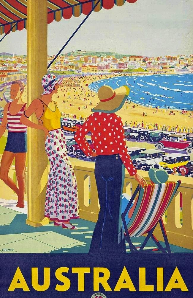 images of vintage travel posters | LARGE SIZE PAINTINGS