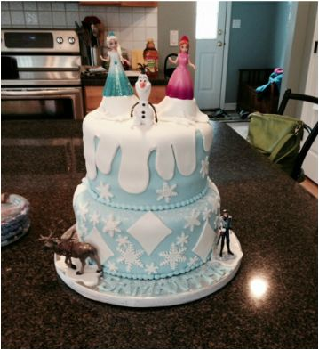 Frozen themed parties are all the rage! Here are some great ideas to transform your home into Elsa and Anna's regal castle without having  to bring in the cold.    Olaf and Sven also make appearances.