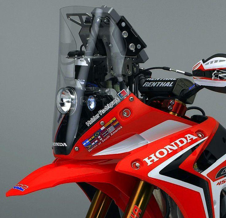 Honda CRF 450 Dakar bike. Navi/HID setup. All function.
