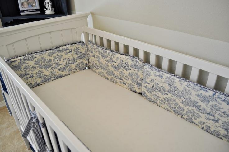 DIY Crib Bumper Pads DIY Baby/Kids Pinterest