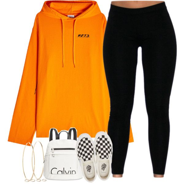A fashion look from November 2017 featuring Vetements hoodies, Vans sneakers i Calvin Klein backpacks. Browse and shop related looks.