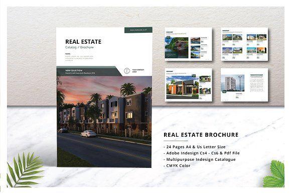 Real Estate Brochure Catalogs By J Studio On