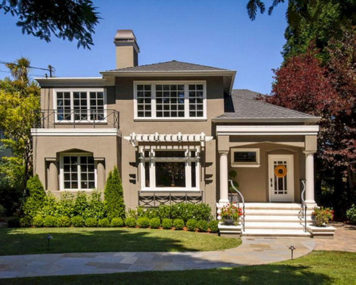 Top 25 best brown roofs ideas on pinterest exterior for Exterior house colors with brown roof