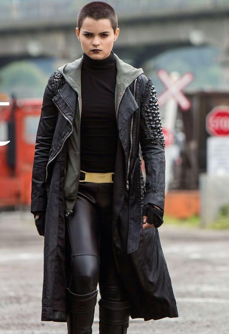 Ellie Phimister   Negasonic Teenage Warhead (Brianna Hildebrand in Deadpool, 2016)