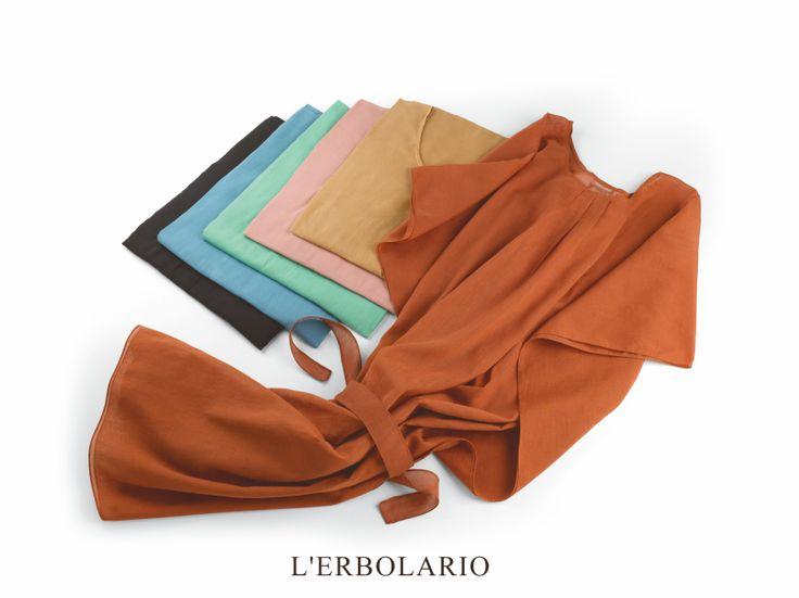 L'Erbolario ha scelto per te doni davvero speciali e molto chic.  La tua estate si veste di stile con il Poncho dell'Estate e il MiniPareo!