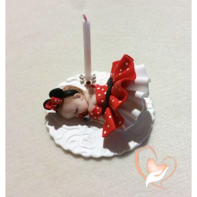 Porte bougie anniversaire bébé fille Mini - au coeur des arts