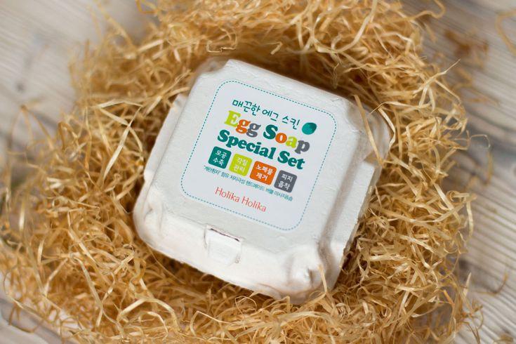 holika holika eggs soap отзыв