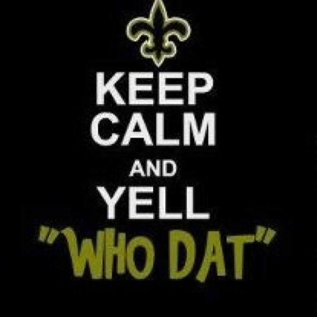 WHO DAT?!