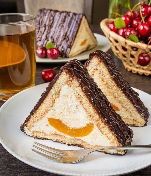 """Кулинарное искусство: ТОРТ """"ШАЛАШ ЛЮБВИ"""".Очередной рецепт для тех, кто любит домашние сладости, но терпеть не может возню ..."""