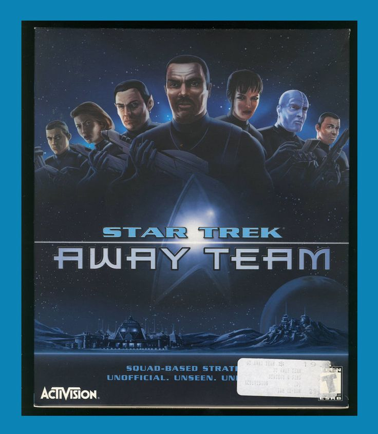Star Trek - Away Team, Activision PC CD Windows 95/98/Me/2000,Complete Uesd VG 47875300255 | eBay