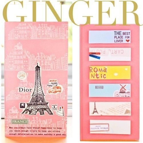 Paris Eiffel Sticker Post-It Bookmark Point It Marker Memo Flags Sticky Notes