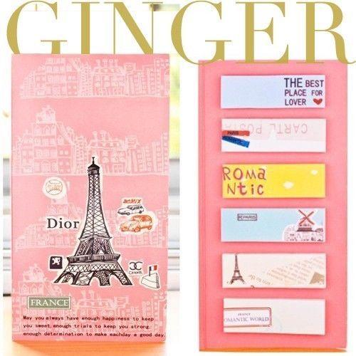 Paris Eiffel Sticker Post-It Bookmark Point It Marker Memo Flags Sticky Notes