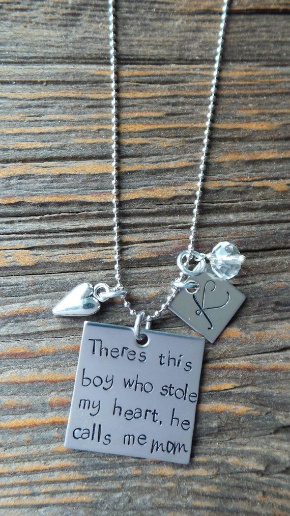 You have stolen my heart keychain with necklace stainless