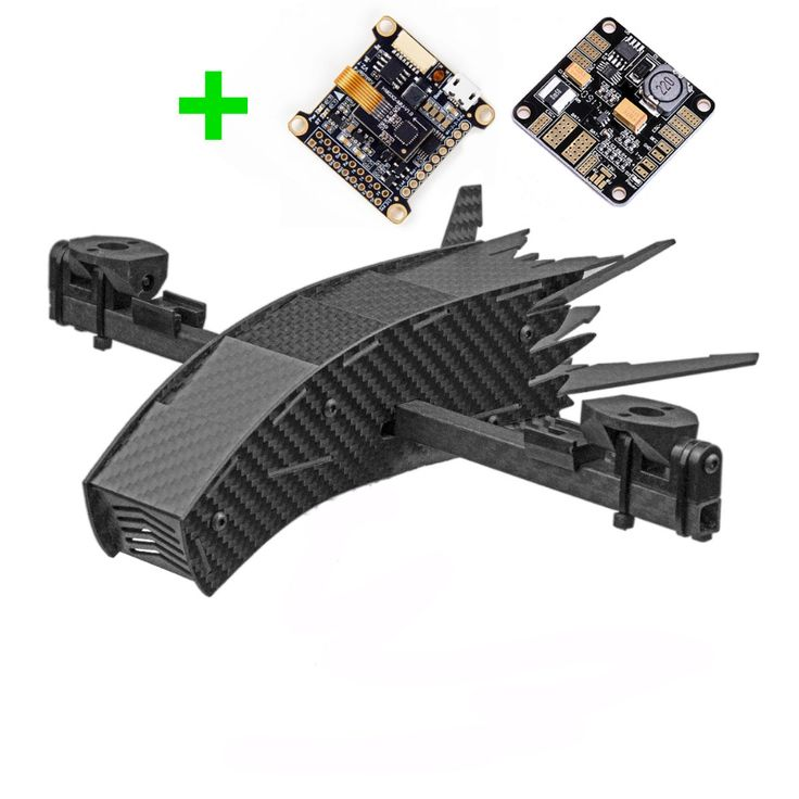 Bicopter kit with babypdbkakute f4 drones concept
