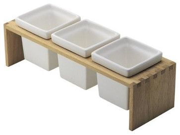 rustic wooden condiment holders google search - Condiment Caddy