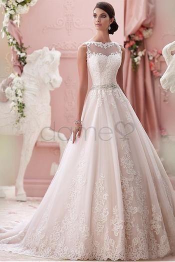 340 best Abendkleider weiß // Hochzeitskleider images on Pinterest ...