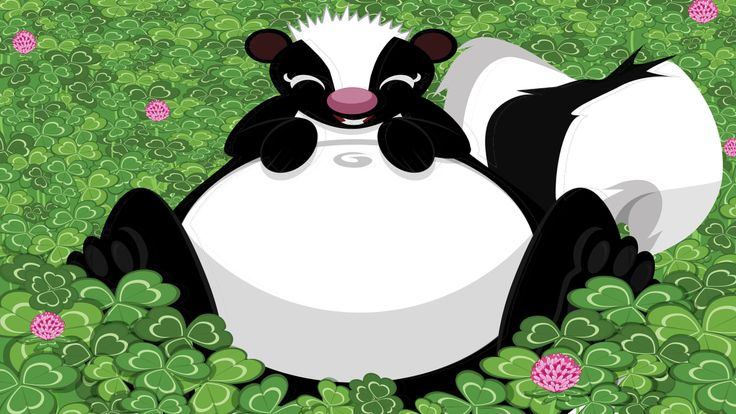 """""""Clover Skunk""""  This was used in the game Guinness World Records: The Video Game way back in 2007. For the World's Smelliest Animal Record."""