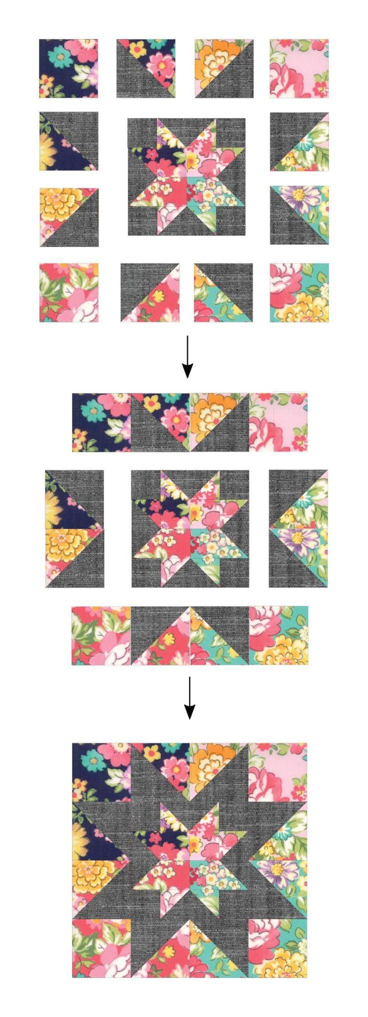 928 besten Tiny quilts Bilder auf Pinterest | Sechseck quilten ...