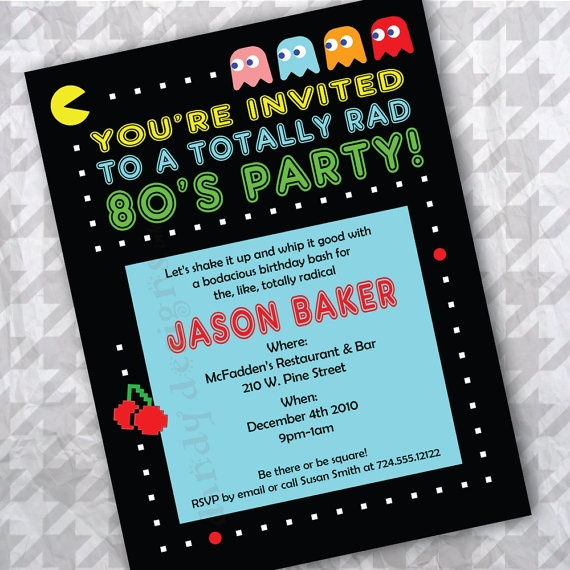 making dirty adult birthday party invitations