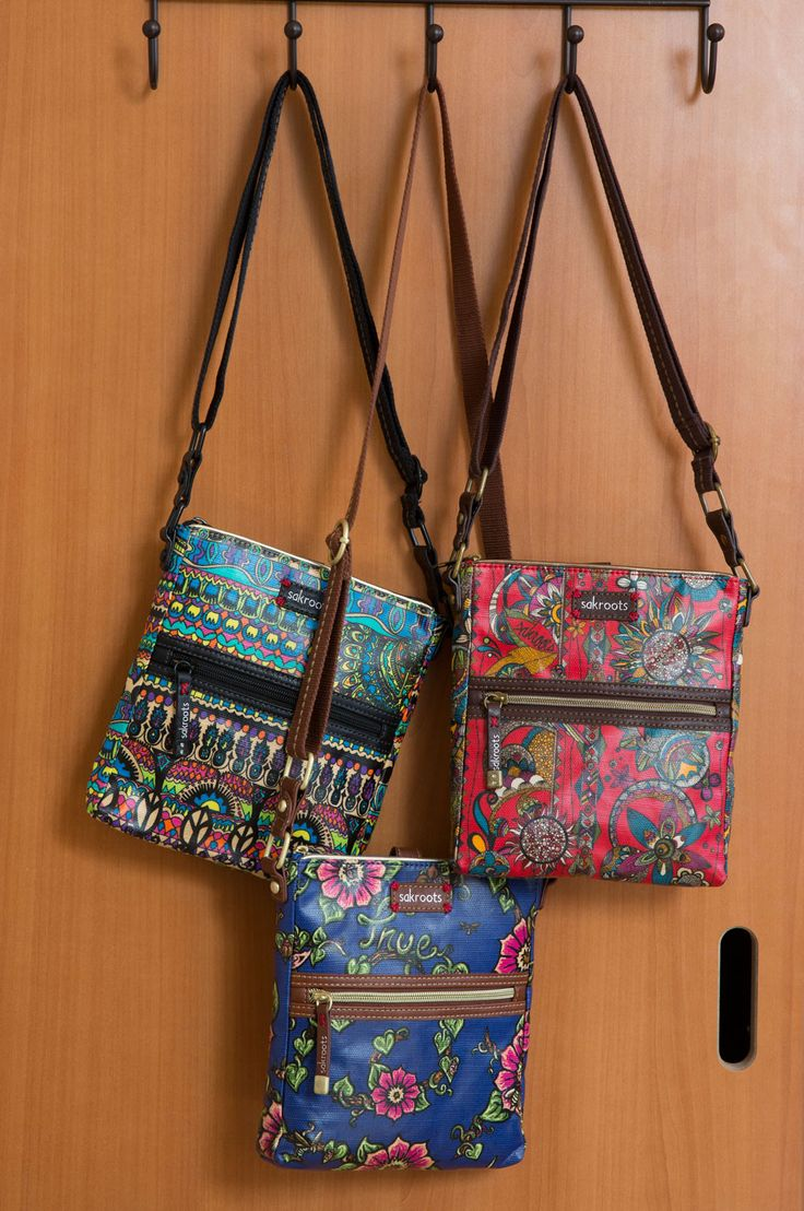 Sakroots Tablet Crossbodies