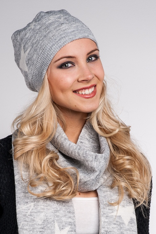 Guess Wool Hat, grey