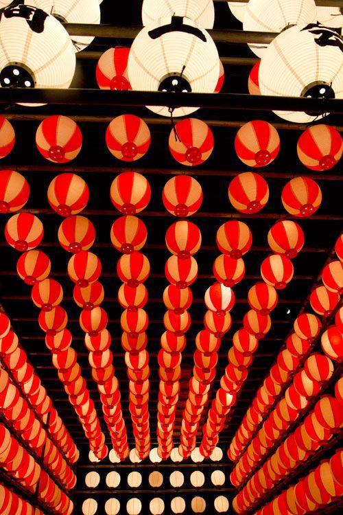 Hakushu lantern tunnel, Yanagawa