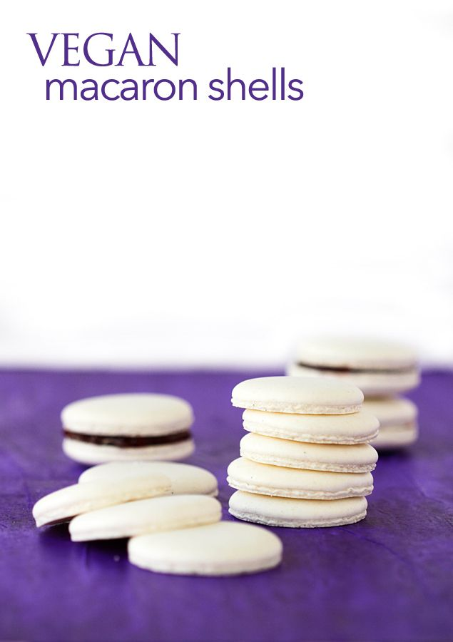 vegan macarons made with the liquid from a can of chickpeas, by PIzzarossa