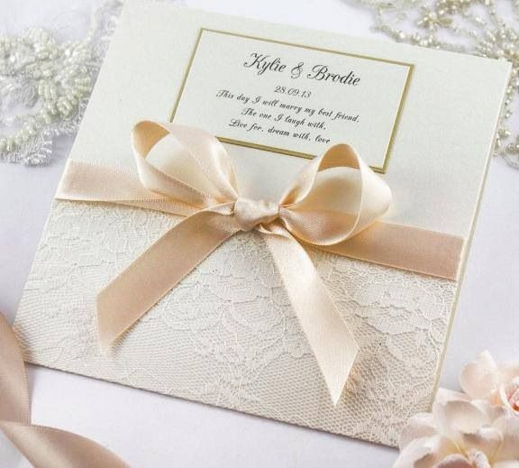 Stunning wedding invitations