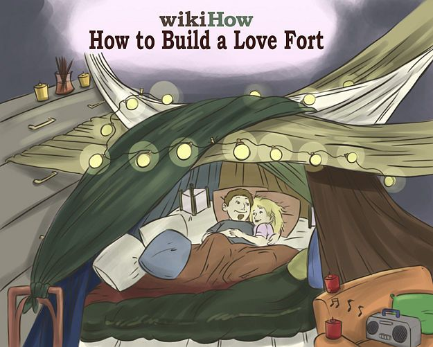 Build a Love Fort