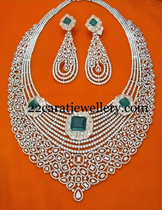 Jewellery Designs: Tremendous Bridal Attire Choker