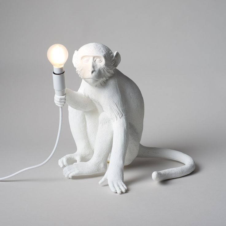 Curious monkeys lamps light the way for a whimsical interior. shopburkelman.com